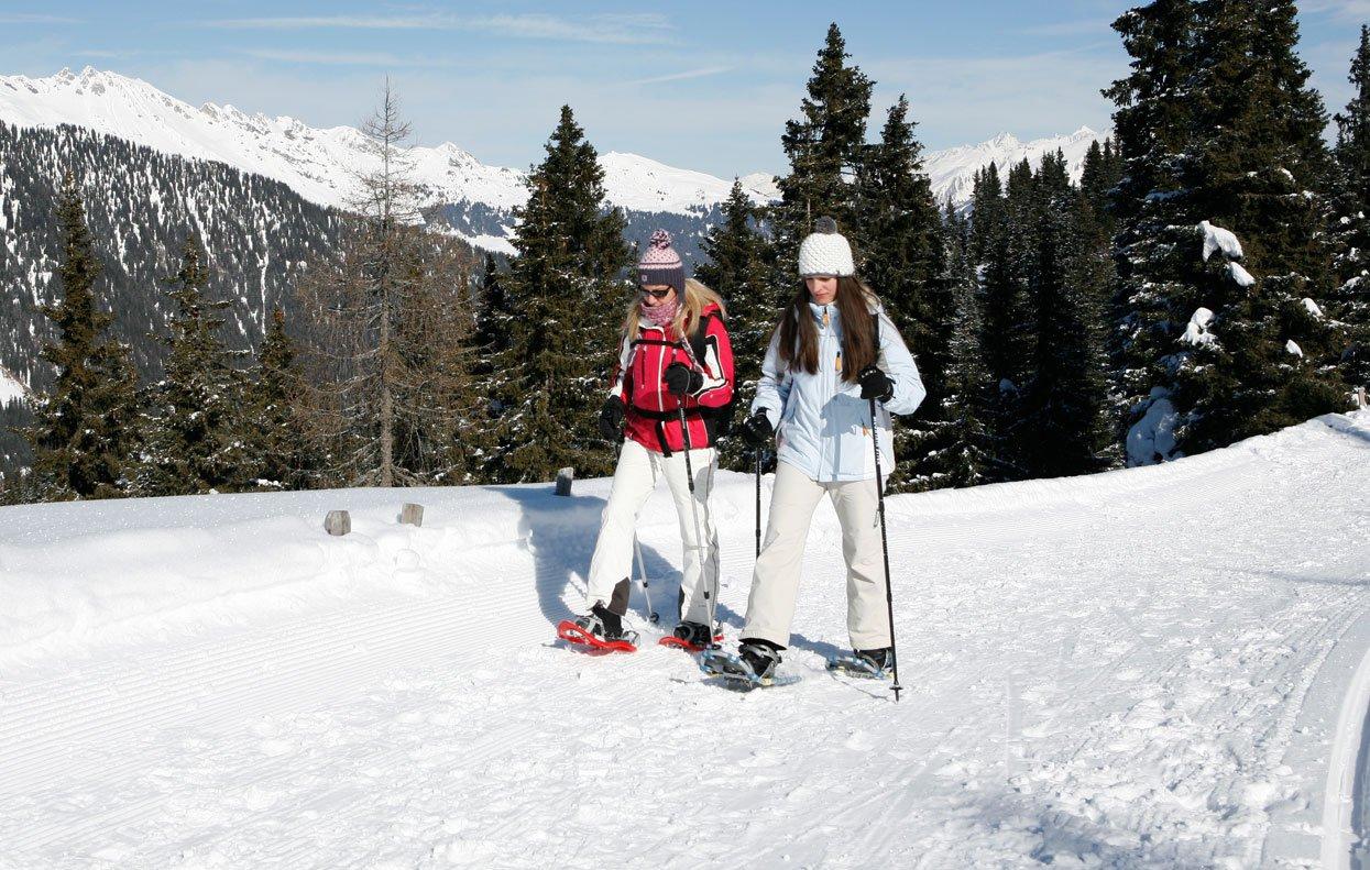 Escursionismo con le ciaspole, sci alpinismo o fondo a Ridanna